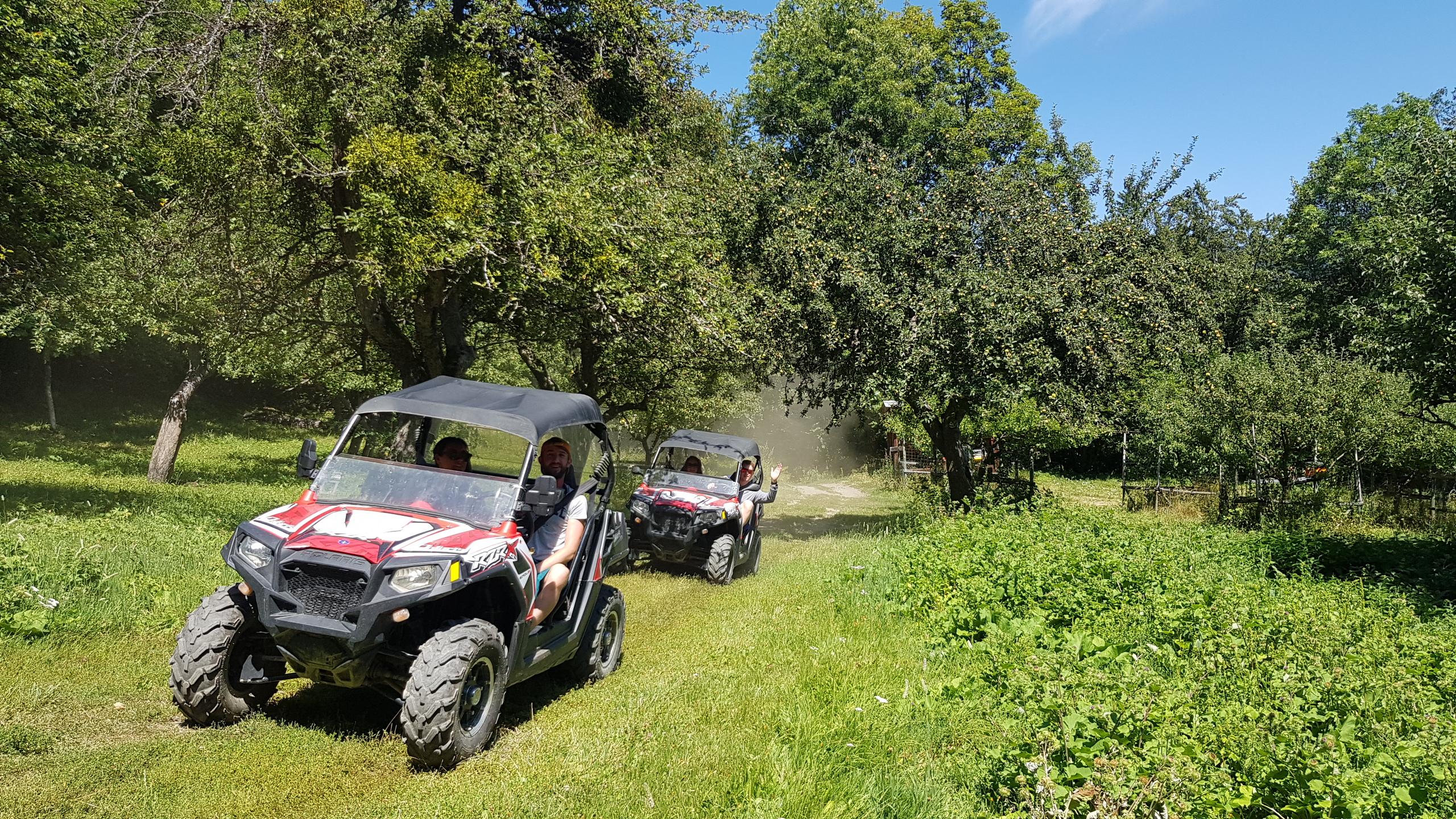randonnée en quad et buggy meribel
